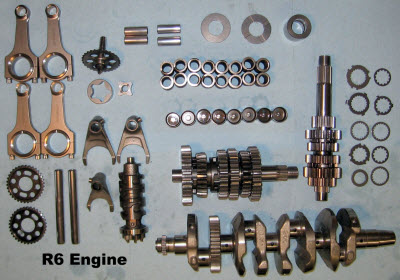 Motorcycle engine performance work and racing services in